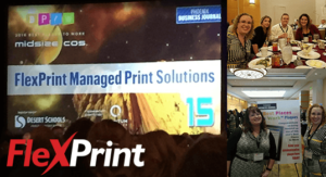FlexPrint 2016 Best Places To Work